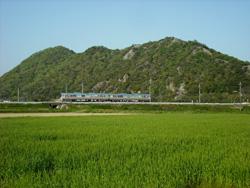 2009年4月/撮影場所:揖保川鉄橋西寄り