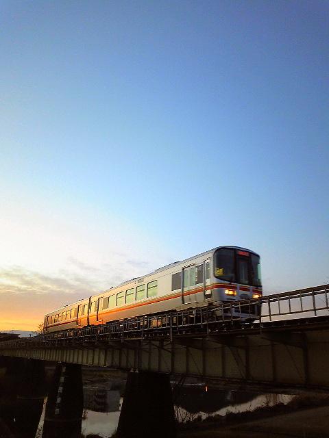 2010年2月/撮影場所:夢前川橋梁