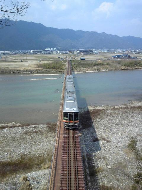 2011年3月/撮影場所:揖保川橋梁